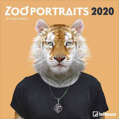 Calendario Zoo Portraits 2020